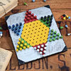 1920s home-made Chinese checkers game