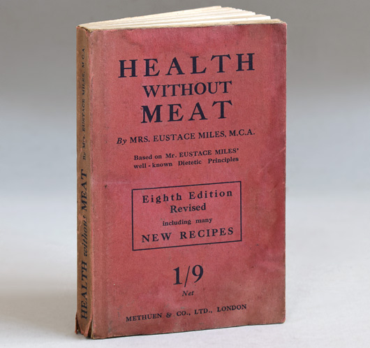 Health Without Meat, 1923 antique hardcover