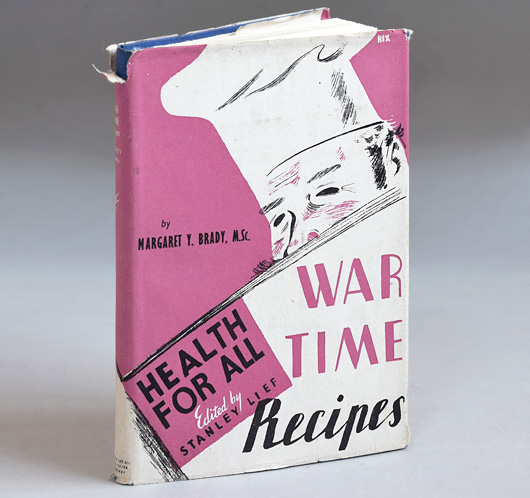 Rare 1945 hardcover: Health For All - Wartime Recipes