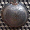 Large French colander with iron handle, late-1800s