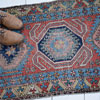 Antique Persian Quchan hallway runner rug, c. 1900