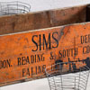 Extra-large packing crate: Sims brewery, early 1900s