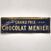 19th-century advertising sign: Chocolat Menier