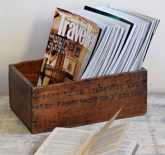 Early-1900s vintage Norwegian cheese crate