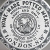 Victorian porcelain pot lid: Home-Made Potted Meats