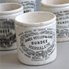 Victorian stoneware Dundee marmalade preserve pot