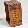 Antique Colman's Mustard trade crate, c. 1910