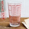 1960s French 1/2-pint glass kitchen measure