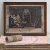 18th-century Hogarth etching: The Idle 'Prentice (1)
