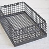 Heavy-duty wire stacking basket
