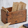 Small Picnic Margarine crate, early 1900s