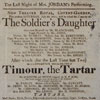 New Theatre Royal Covent Garden playbill, Jul. 1811