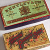 Pair of Edwardian printed soap boxes