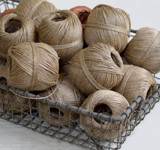 Vintage French ball of twine
