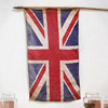 Victorian Union Jack flag on pole