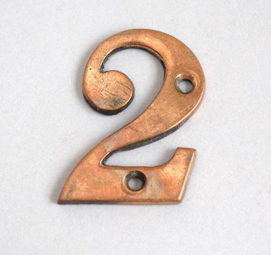 Antique Brass Door Numbers - Antique Brass Door Numbers Antique Furniture