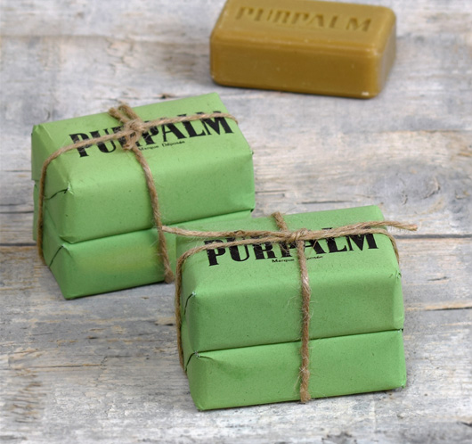 French deadstock vintage palm oil soap: Purpalm