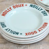 Mid-1900s porcelain ashtray: Noilly vermouth