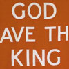 1930s 'God Save The King' flag wall hanging