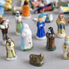 French porcelain Nativity figure Christmas decorations