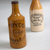 Early-1900s sealed ginger beer bottle, Fry & Co