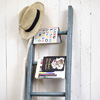 Early-1900s painted wooden display ladder