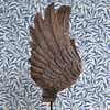 19th-century carved wooden mould: Angel's wing