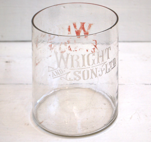 Victorian counter-top glass jar: Wright & Sons Ltd