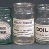 Set of 3 Victorian chemist's bottles with labels (11 of 18)