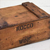 Small 1930s wine bottle crate