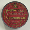 Antique shortbread tin wall hanging