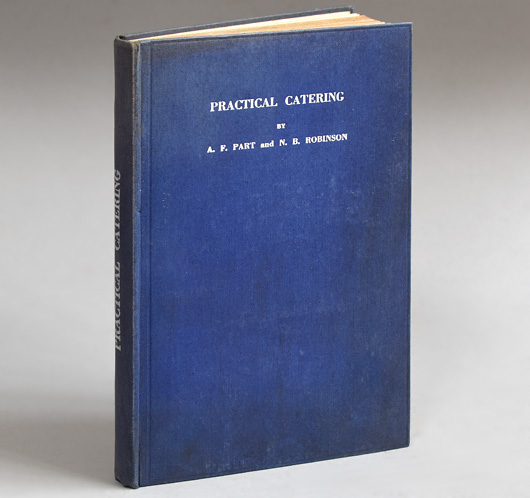 Rare first-edition hardcover: Practical Catering, c. 1920