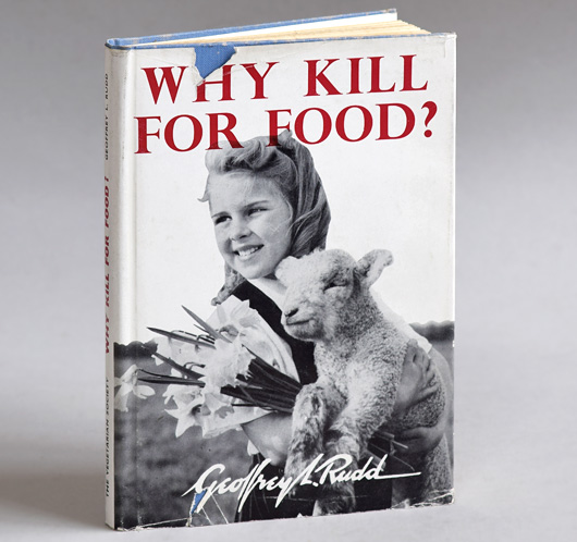 Why Kill For Food?, 1956 first-edition hardcover